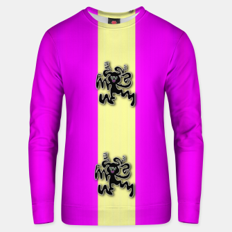 Thumbnail image of my happy dance Unisex sweater, Live Heroes