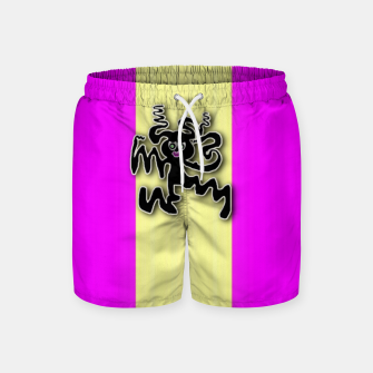 Thumbnail image of my happy dance Swim Shorts, Live Heroes