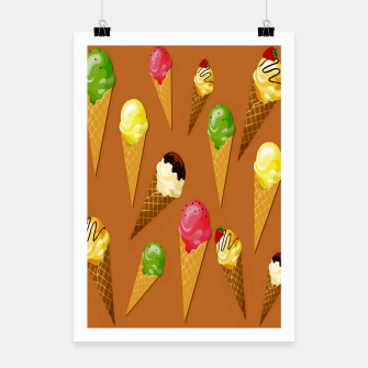 Thumbnail image of Ice cream cones-Brown Cartel, Live Heroes
