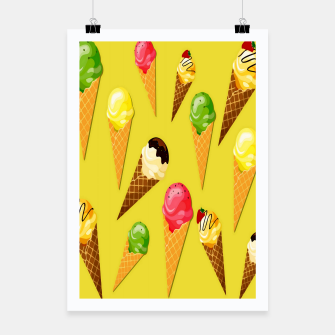 Thumbnail image of Ice cream cones -Yellow Cartel, Live Heroes