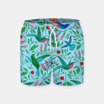 Thumbnail image of Hummingbirds Swim Shorts, Live Heroes