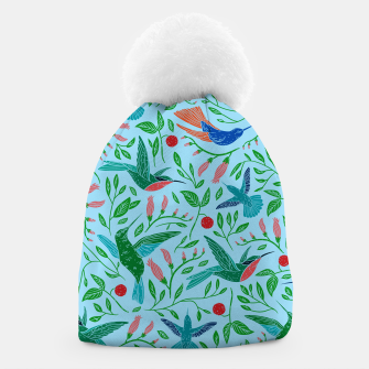 Thumbnail image of Hummingbirds Beanie, Live Heroes
