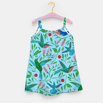 Thumbnail image of Hummingbirds Girl's dress, Live Heroes