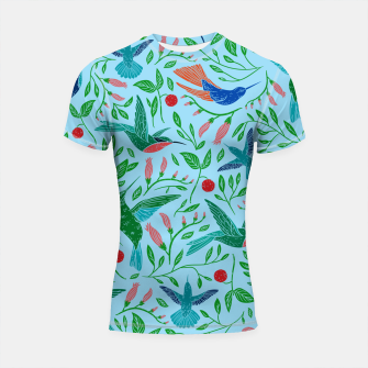 Thumbnail image of Hummingbirds Shortsleeve rashguard, Live Heroes