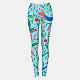 Thumbnail image of Hummingbirds Leggings, Live Heroes