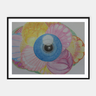 Thumbnail image of The Eye of Fantasy Framed poster, Live Heroes