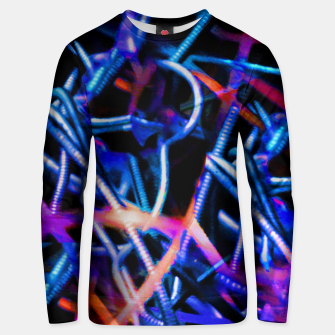 Thumbnail image of Modern Abstract Print Unisex sweater, Live Heroes