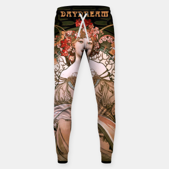 Miniaturka Daydream by Alphonse Mucha Over Black Sweatpants, Live Heroes
