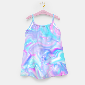 Miniatur Holographic Girl's dress, Live Heroes