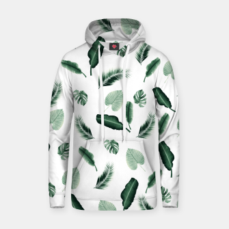 Thumbnail image of Tropical Jungle Leaf Pattern #2 #tropical #decor #art  Kapuzenpullover, Live Heroes