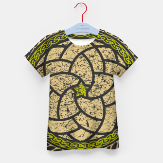 Thumbnail image of Elements - Green Kid's t-shirt, Live Heroes