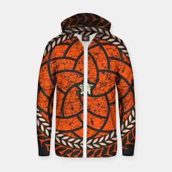 Thumbnail image of Elements - Red Zip up hoodie, Live Heroes