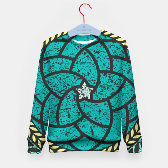 Thumbnail image of Elements - Blue Kid's sweater, Live Heroes