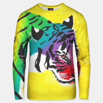 Miniatur Be proud, Tiger, jungle cat Unisex sweater, Live Heroes
