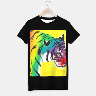 Miniatur Be proud, Tiger, jungle cat T-shirt regular, Live Heroes