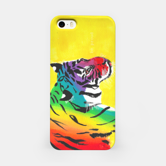 Miniatur Be proud, Tiger, jungle cat iPhone Case, Live Heroes