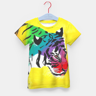 Miniatur Be proud, Tiger, jungle cat Kid's t-shirt, Live Heroes