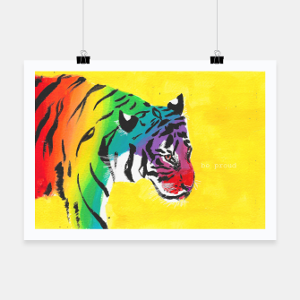 Miniatur Be proud, Tiger, jungle cat Poster, Live Heroes