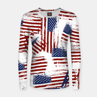 Thumbnail image of 4th of July Women sweater, Live Heroes