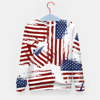 Thumbnail image of 4th of July Kid's sweater, Live Heroes