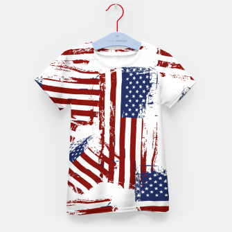 Thumbnail image of 4th of July Kid's t-shirt, Live Heroes