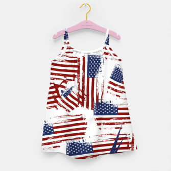 Thumbnail image of 4th of July Girl's dress, Live Heroes