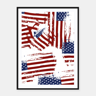 Thumbnail image of 4th of July Framed poster, Live Heroes