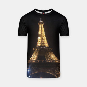 Miniaturka Photo Tour Eiffel Paris T-shirt, Live Heroes