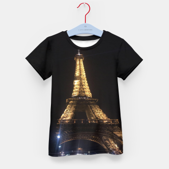 Miniaturka Photo Tour Eiffel Paris Enfantin t-shirt, Live Heroes
