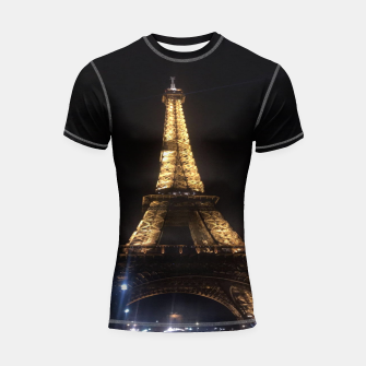 Miniaturka Photo Tour Eiffel Paris Shortsleeve rashguard, Live Heroes
