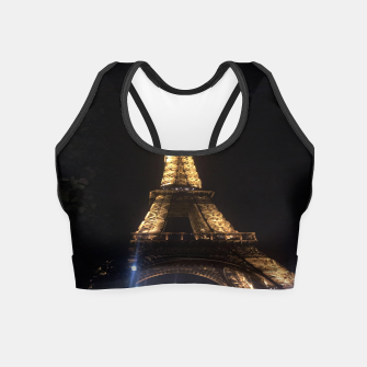Miniaturka Photo Tour Eiffel Paris Crop Top, Live Heroes