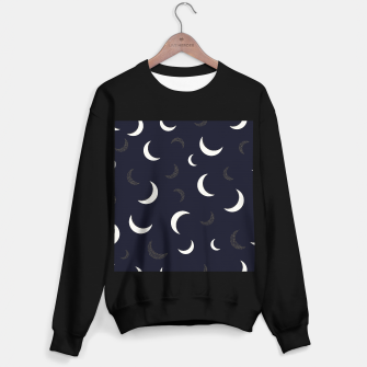 Thumbnail image of Shining golden and white colored moon night life pattern Sweater regular, Live Heroes