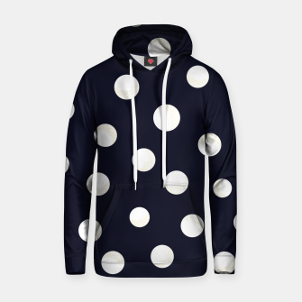 Miniature de image de Shining golden and white colored dots pattern  Hoodie, Live Heroes
