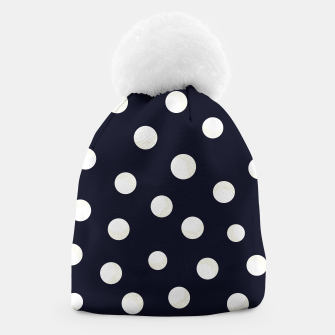 Miniature de image de Shining golden and white colored dots pattern  Beanie, Live Heroes