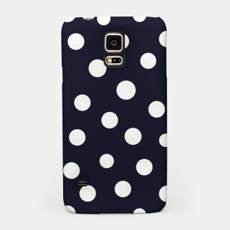 Miniature de image de Shining golden and white colored dots pattern  Samsung Case, Live Heroes
