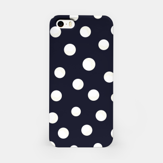 Miniature de image de Shining golden and white colored dots pattern  iPhone Case, Live Heroes