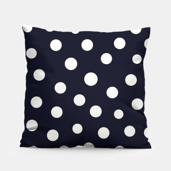 Miniature de image de Shining golden and white colored dots pattern  Pillow, Live Heroes