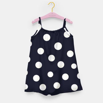 Miniature de image de Shining golden and white colored dots pattern  Girl's dress, Live Heroes