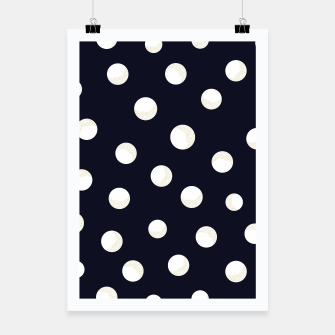 Miniature de image de Shining golden and white colored dots pattern  Poster, Live Heroes