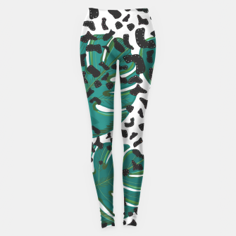Thumbnail image of Seamless pattern for textile design.  Leggings, Live Heroes