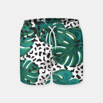 Thumbnail image of Seamless pattern for textile design.  Swim Shorts, Live Heroes