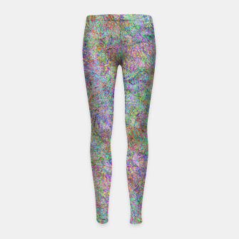 Thumbnail image of btf Girl's leggings, Live Heroes