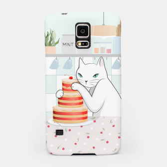 Thumbnail image of Sweet Tea Time on Cat's Kitchen Samsung Case, Live Heroes