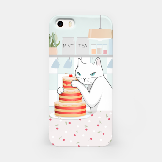 Thumbnail image of Sweet Tea Time on Cat's Kitchen iPhone Case, Live Heroes