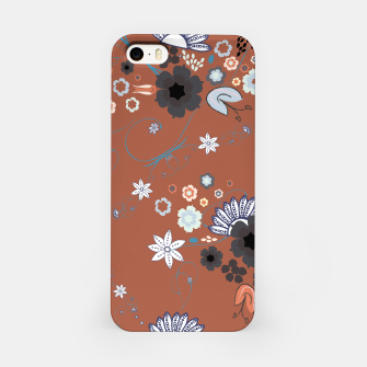 Miniature de image de Orient express Japanese flowers elegant pattern  iPhone Case, Live Heroes