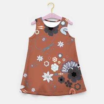 Miniature de image de Orient express Japanese flowers elegant pattern  Girl's summer dress, Live Heroes