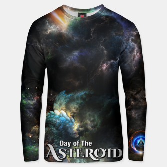 Thumbnail image of Day Of The Asteroid SciFi Fractal Art Unisex sweater, Live Heroes