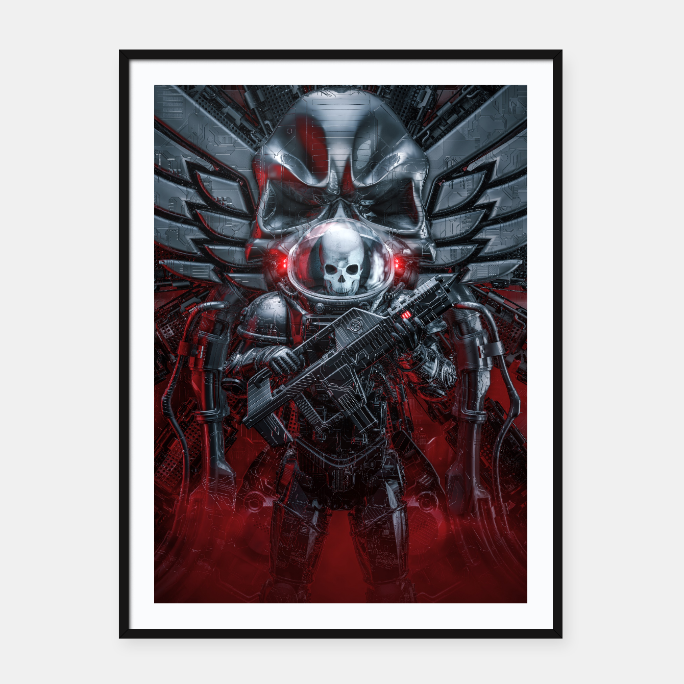 Image of Honor Guard Framed poster - Live Heroes