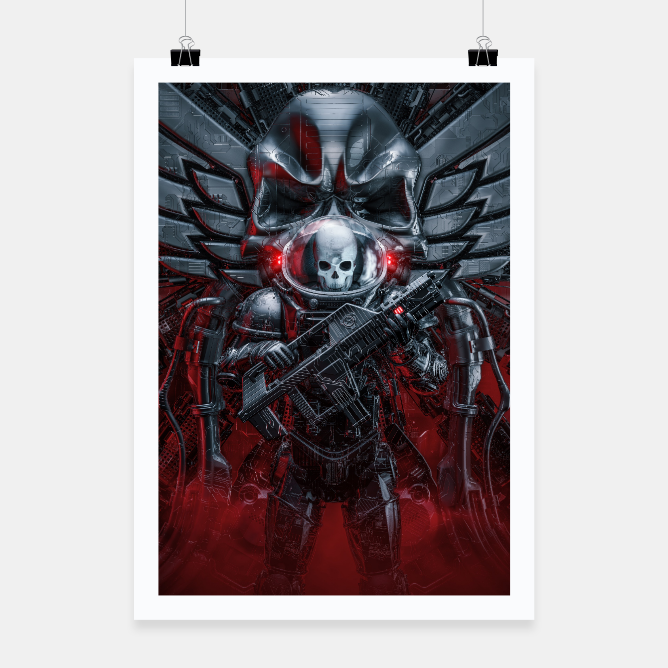 Image of Honor Guard Poster - Live Heroes