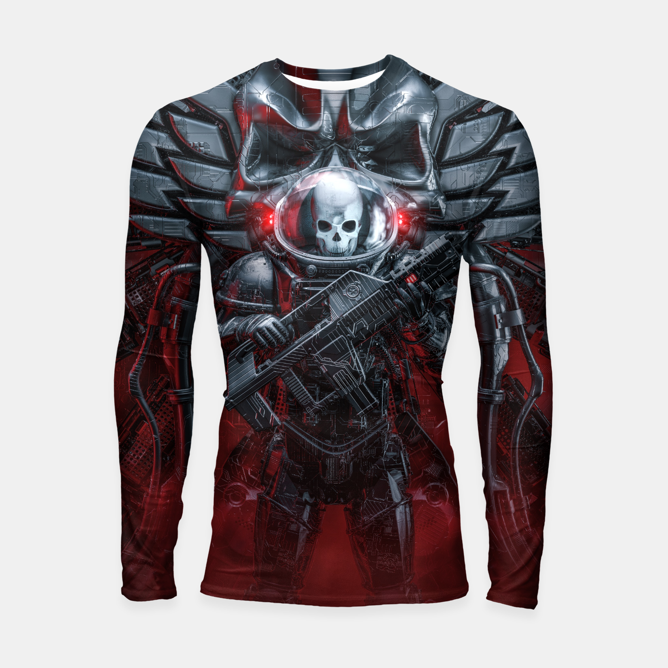 Image of Honor Guard Longsleeve rashguard  - Live Heroes